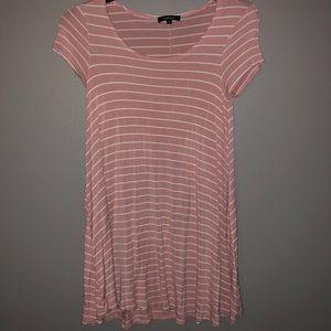 Ambiance striped pink dress